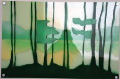"#elementedenartsearch  ""Wood wood""- Kaja Weum, Three layers of plexiglas and spraypaint. www.kajaweum.com"