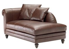 Scottsdale - Natuzzi Leather Chaise|Town and Country Leather Furniture Available in other colors