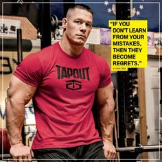 Bodybuilding john-cena-motivation - Whether they're motivating or entertaining, these jacked superstars know just what to say. Muscle Fitness, Muscle Men, Fitness Diet, Mens Fitness, Health Fitness, York Fitness, Bodybuilding Quotes, Bodybuilding Motivation, Bodybuilding Supplements