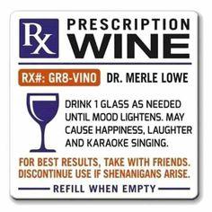 Prescription of Wine