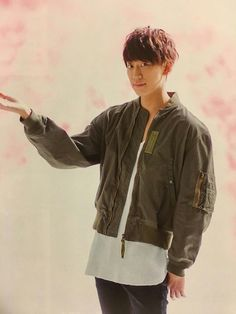 kei 小山慶一郎 News 2, Kato, Bomber Jacket, Cute Guys, Girls, Bomber Jackets