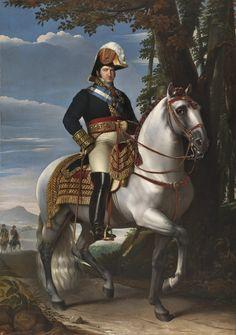 Le Roi Ferdinand VII (1821, Museo Nacional del Prado, Madrid) de José de Madrazo y Agudo