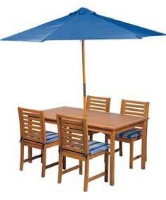 roscana teak wooden 4 seater dining set image 1 garden furniture pinterest teak dining sets and garden furniture