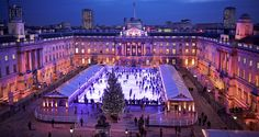 SKATE AT SOMERSET HOUSE - Celebrate the festive season in style at London's most beautiful ice rink offering a host of seasonal experiences on and off the ice.