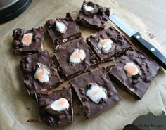 Easter Chocolate Fridge Cake With Creme Eggs