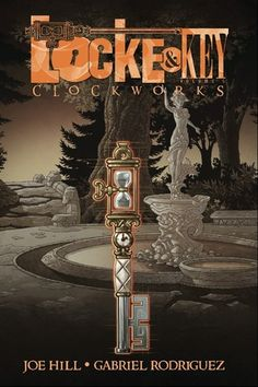 Locke & Key - Vol. V: Clockworks by Joe Hill, Illustrated by Gabriel Rodriguez -- My favorite volume in the series!  And now I have to wait patiently for Vol 6!