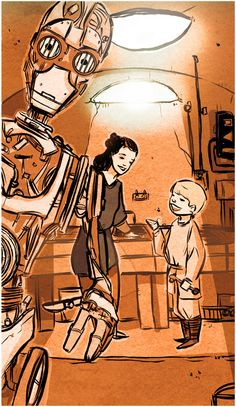 "One of the biggest reasons why the characters in the Star Wars universe are such a draw is that we get to see their stories told through their many different points of view. In keeping with that line of thinking, artist Chris Gugliotti has created ""A Certain Point of View"" – a 9-panel comic that tells the story of the Star Wars prequels from R2-D2′s perspective."