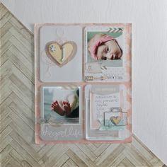 Le scrap d'Amélie: Page type Project Life avec le kit du mois d'Octob...