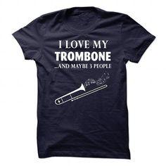 Trombone - #bridesmaid gift #gift for mom. LOWEST PRICE => https://www.sunfrog.com/Music/Trombone-81423573-Guys.html?68278