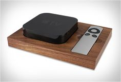 Apple TV Holder   by Tinsel & Timber