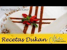 Una Tarta Dukan de coco, yogur y queso. Sencillísima, fresca, ligera... ¡deliciosa!