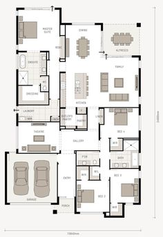 Here is a great floor plan that will suit most residential blocks. This home has a 15.8m frontage, and inside is jam packed with everything you need. I have to say, my favourite part is the master suite. Located at the rear of the home, it has a luxurious ensuite, a built in robe and a...