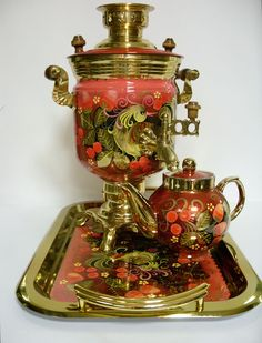 Тульский самоварРусские эмали. Russian Enamel Russian Art : : More Pins Like This At FOSTERGINGER @ Pinterest