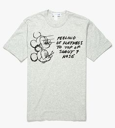 Comme des Garçons Disney Apparel -http://www.animated-review.blogspot.co.uk/2013/08/comme-des-garcons-disney-apparel.html
