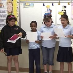 """INSTRUCTION """"Reader's Theater"""" promotes speed, accuracy, and proper expression.. Students read and re-read an engaging text, practicing delivering this text with fluency and expression. After practicing this text over a period of time, students present their reading to the class, at which point their reading is celebrated. This is a fun, engaging way to promote fluency and reading with expression, and therefore comprehension."""