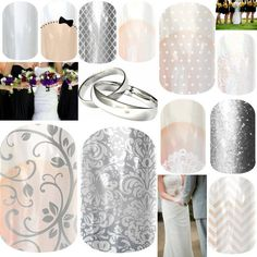 Weddings with Jamberry Nails #weddings #nails