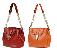 fashion design genunine cow Leather Shoulder Bag