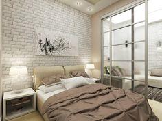 Trendy Home Dco Sliding Doors Dream Bedroom, Home Bedroom, Bedroom Wall, Bedroom Decor, Small Space Living, Small Rooms, Small Spaces, No Closet Solutions, Tiny Apartments
