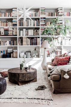 Boho Chic umgesetzt mit zurückhaltenden Farben. (Bild gefunden auf: www.style-files.com)