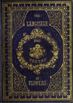 Book Cover Language of Flowers 1857