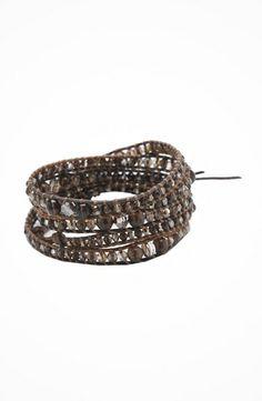 """Chan Luu 33"""" Smokey Mix/Saada Bracelet #accessories  #jewelry  #bracelets  https://www.heeyy.com/chan-luu-33-smokey-mixsaada-bracelet-smokey-mix/"""