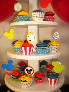 Mickey Mouse Birthday Party Ideas | Photo 9 of 21 | Catch My Party