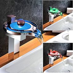 Homelody® Hohe Chrom RGB LED Wasserhahn Wasserfall Armatu... https://www.amazon.de/dp/B01GR8WAVK/ref=cm_sw_r_pi_dp_x_qCE.xbZPF75N2
