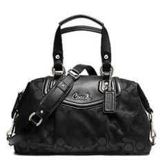black-coach-handbag