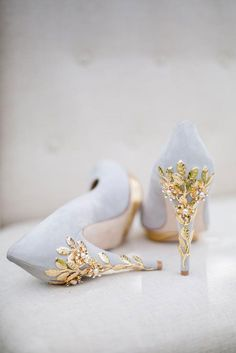 Lovely London Based Wedding Shoes by Harriet Wilde ~ we ❤ this! moncheribridals.com