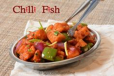 Chilli Fish is one of the most sought after Indian Chinese dish recently. Made with fresh fleshy fish fillet mostly like kingfish / Tilapia makes excellent finger snack with drinks, also can be served as an appetizer / starter or as a side dish with Asian main course of Fried rice or Noodles.  Chilli Fish Recipe / Indo-Chinese Fish manuchurain / Chili Fish Dry / Indo-Chinese Recipes / Restaurant Style Chili Fish Recipe / Starter/ Appetizer Recipes / Indian Style Fish Manchurian / Spicy Fish…