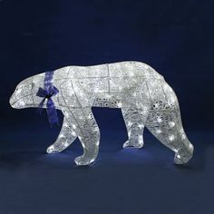 16 sitting polar bear christmas decorations solutions gifts pinterest polar bear bears and christmas tree - Outdoor Polar Bear Christmas Decorations