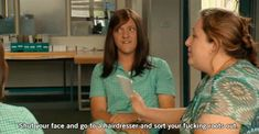 It's not easy being queen. Luckily, private school girl Ja'mie King has it all sorted out for you. He Who Laughs Last, Just For Laughs, Australian Quotes, Summer Heights High, Chris Lilley, Private School Girl, Jamie King, Girl Gifs, Humor