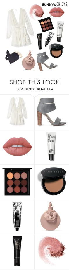 """""""bunny"""" by amyshears ❤ liked on Polyvore featuring Rebecca Minkoff, Splendid, Lime Crime, MAC Cosmetics, Bobbi Brown Cosmetics, NARS Cosmetics, Hillier Bartley and bunnieschicks"""