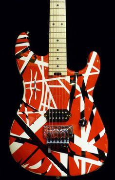 Frankenstein Van Halen Colors   EVH Striped Series 2013 NEW All Colors in stock! image