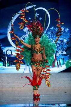 MIss Universe National Costumes 2012  MIss Bolivia  Another candidate for Delaney's prom dress?