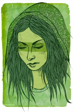 The Woman in Green by Claire Kearns