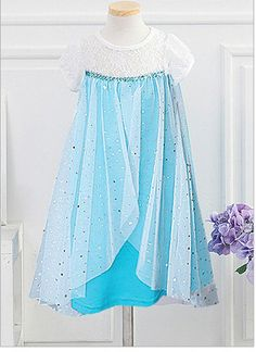 Frozen Elsa Inspired Outfit Frozen Outfit Frozen by mustit on Etsy, $34.99