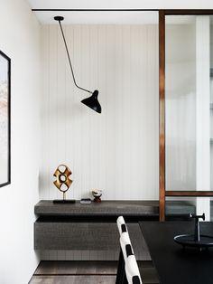 We Are Huntly | Hampton Penthouse Parisian Apartment, Minimalist Design,  Modern Minimalist, Dining