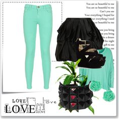 """""""♥ Casual Outfit ♥"""" by braia-iulia ❤ liked on Polyvore"""