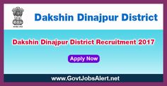 Dakshin Dinajpur District Recruitment 2017 - Hiring Gram Rozgar Sevak Post, Salary Rs.8,000/- : Apply Now !!!  The Dakshin Dinajpur District Recruitment 2017 has released an official employment notification inviting interested and eligible candidates to apply for the positions of Gram Rozgar Sevak. The eligible candidates may apply to the posts in the prescribed format available in official website or in the official Advt. PDF below (can be download).