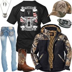 28 Ideas Dress Casual Country Girl Outfits For 2019 Country Style Outfits, Country Wear, Country Girl Style, Country Women, Country Fashion, My Style, Country Life, Country Style Clothes, Country Bumpkin