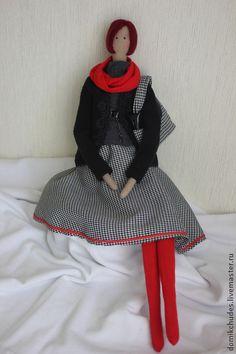 Катрин. Тильда модница - тильда,тильда кукла,ангел тильда,фея тильда,сумка женская