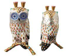 Klaus Haapaniemi - White Owl Ceramic Figure
