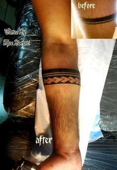 arm band maori tattoo by moe barjawi tattoos by moe-barjawi-tattoos on ...