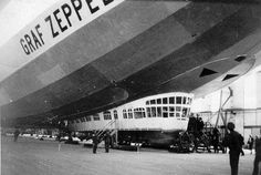 Graf Zeppelin D-LZ-127 was launched on September 18, 1928. Designed for carrying 20 passengers and a crew of 40, this airship set a host of records. On the 90th birthday of Count Ferdinand von Zeppelin, the German airship manufacturer, airship LZ 127 was christened GRAF ZEPPELIN. Although still fully operational, the airship was broken up in 1940, upon the order of Reich Marshal Hermann Göring.
