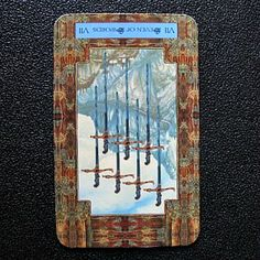 Reversed Seven of Swords Seek advice from those who have been through what you are facing now
