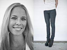 Imogene + Willie raw demin jeans, Nashville, TN #dreamindenim