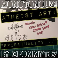 """Atheist Art: """"Spirituality..."""""""