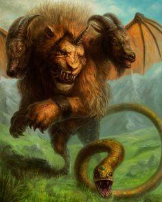 Quimera, para Legend of Monsters (Applibot)