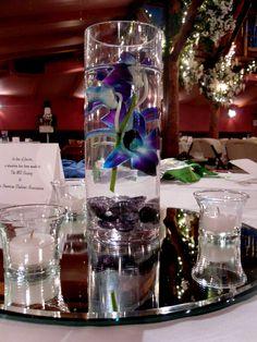 Orchid Centerpiece Designed by Samantha Yoder